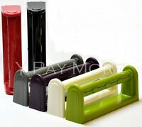 MADE IN UK Kitchen Towel Paper Roll Holder Wall Mount Mounted Plastic Dispenser