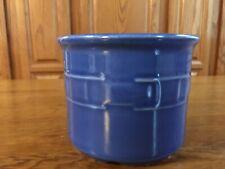 Longaberger Woven Traditions Cornflower Blue 1 Pint Crock