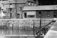 Tpl-29 Padstow Quay & Abbey House, Cornwall. Photo