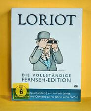 Loriot - Die vollständige Fernseh-Edition (6 DVDs) * NEU+OVP i. Folie** SOFORT**