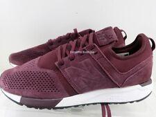 New Balance 247 Suede Burgundy MRL247LR Men's Sneakers Size 9 NWOB