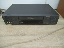 7 Cabeza S-VHS Recorder Panasonic NV-HS860EG-K con Fb 12 Meses de Garantía