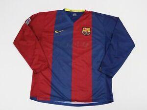 Nike Blue Large Manchester United Jersey Long Sleeve Shirt Men