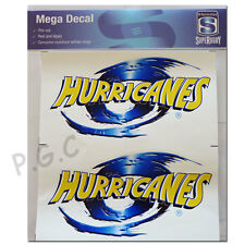 NZ Super Rugby Union Hurricanes iTag Mega Decal Sticker Set