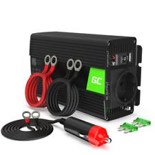 Green Cell INV05DE DC 12V à AC 230V 300W/600W Convertisseur de Tension pour Auto