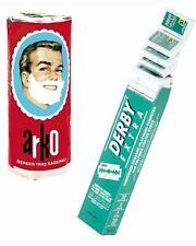 50 Derby EXTRA + 50 Astra DE Blades And 3 Stick Arko Shaving Cream Soap