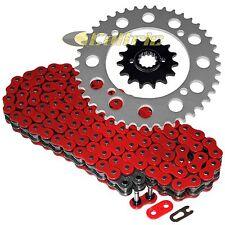 Red O-Ring Drive Chain & Sprockets Kit Fits YAMAHA XT600 1984-1989