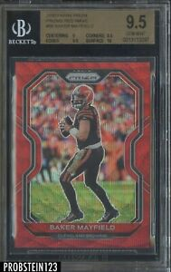 2020 Panini Red Wave Prizm #56 Baker Mayfield Cleveland Browns /149 BGS 9.5