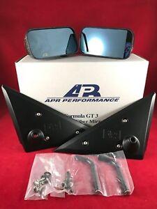 APR Performance Carbon Fiber Formula GT3 Mirrors Pair Honda Civic 92-95 Coupe