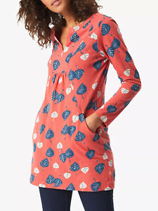 New Leaf Print Jersey Tunic Top - Fox by WHITE STUFF RRP ws £40 sz 6 or 14