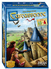 Carcassonne Board Game (2015 Revised Edition) - Age 7+ - New and Sealed