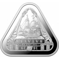 2019 Batavia 1oz Silver Bullion Coin