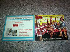 ALBUM WEST EDIS 1975 COMPLETO(-5 FIGURINE) BELLO TIPO PANINI LAMPO MIRA RELI
