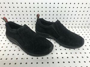 Merrell Jungle Moc OrthoLite Shoes Black Mens Size 10 Dual Density Sneakers