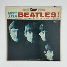 BEATLES Meet The Beatles! ST2047 IAM LP Vinyl VG+ Cover VG near+ Rainbow  3 BMI