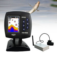 LUCKY FF918-CWLS Sonar Sensor Fish Finder Wireless 980ft River Sea Ice Fishing