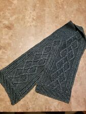 RRL aran knit scarf