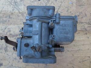 Original Weber 36 DCS #837 Carburetor Vintage Classic Ferrari 250 GT GTE