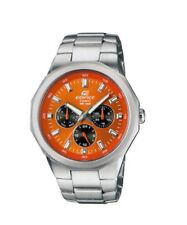 Casio Edifice EF-332D-5A  Analog Stainless Steel Mens Watch EF-332D WR 100M New