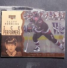 CLIFF RONNING 1996-97 Upper Deck  Ice Acetate Parallel  #53  Arizona Coyotes