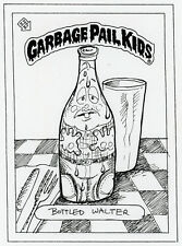 Garbage Pail Kids sketch original concept art Jay Lynch Bottled Walter GPK