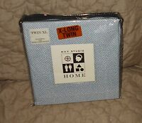 Max Studio Home blue white XL Twin sheet set extra long 3 pc packaged