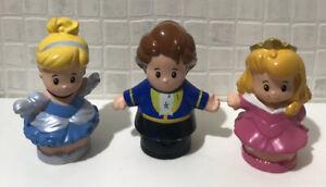 Little People 💕 Disney Princess Figures ~ Cinderella, Aurora & Prince Adam