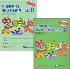 Primary Mathematics 2A Textbook and Workbook - U.S. Edition - New