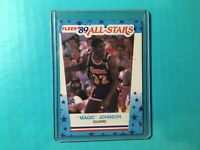 MAGIC JOHNSON 1990 FLEER ALL-STARS STICKER ODDBALL #5 LAKERS
