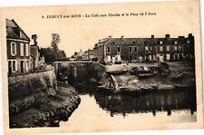 CPA Isigny sur Mer - La Cale aux Moules et le Pont de l'Aure (271687)