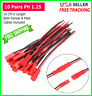 10 pairs 145mm JST Plug Connector Cable Male & Female RC Lipo Battery 1.25 PH