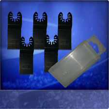5 Sägeblätter 32 mm Japan Sägeblatt  Zubehör Aufsätze für Bosch PMF 180 E + Box