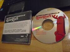 RARE ADVANCE PROMO Super Furry Animals CD Love Kraft NEON NEON Stereolab rock !