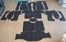 Brand New 1963 Corvette Complete Carpet Set Black - No Padding -