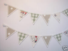 LAURA ASHLEY & CATH KIDSTON FABRIC BUNTING CURTAIN TIE BACKS  Billy Goes to Town