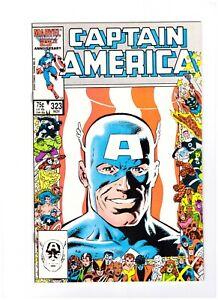 Captain America 323 - (1986) - 1st App John Walker - Falcon Winter Soldier