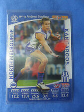 2012  TEAMCOACH  AFL BEST & FAIREST WILDCARD NORTH MELBOURNE A SWALLOW  BF11a