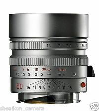 Brand New Unused Leica SUMMILUX-M 50mm F1.4 f/1.4 ASPH. 6-Bit Silver M 240 11892