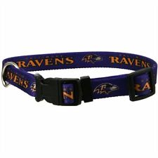 Baltimore Ravens Dog Collar Large 18 - 26 Inch Dog Collar