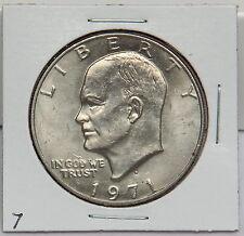 1971 D Eisenhower Dollar Coin - Ike Denver