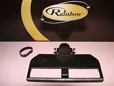 RAINBOW VACUUM SOLE PLATE D4C SE POWER NOZZLE * BRUSH ROLL COVER * w/ FREE BELT