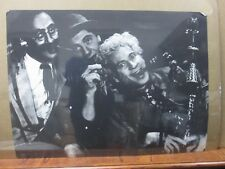 Vintage Black & White Poster Marx's Brothers 1970's in#G446