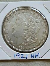 1921 SILVER MORGAN DOLLAR (No Mint Mark)