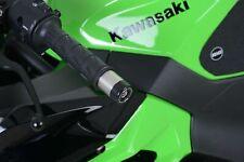 R&G RACING PAIR BAR END WEIGHT SLIDERS PROTECTORS Kawasaki 2008 ER-6N B8F