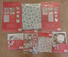 Christmas Card Making Kit Crafts Docraft Papermania Pocket Full Of Posies 7 Pks