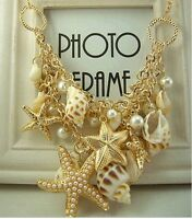 Fashion Women Pearl Collar Chain Pendant Hot Charm Choker Statement Bib Necklace