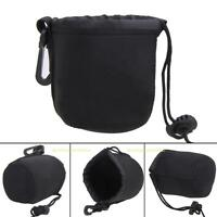 Universal Neoprene Waterproof Soft Pouch Bag Case for Video Camera Lens S M L XL