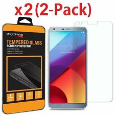 2 Pack Premium Tempered Glass Screen Protector Guard For LG G6