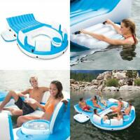 Intex Inflatable Relaxation Island Raft With Backrests And Cooler   56299CA