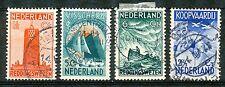 Nederland  257 - 260 gebruikt (4)
